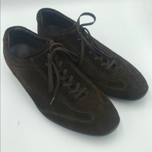 Tod's Brown Suede Trainers